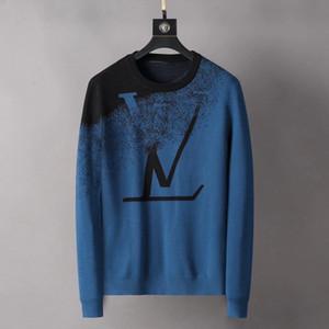 Горячие мужчины свитера вышивка длинного рукав Hoodie Идущих бегуны дизайнер фуфайка втулка Тонкий пуловер мужской женщин свитер
