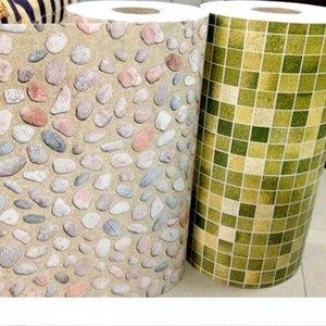 5M Bathroom Tiles Waterproof Wall Sticker Vinyl PVC Mosaic Self Adhesive Anti Oil Stickers DIY Wallpapers Home Decor
