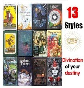 Party Edition Game Cards Vente magique English Conseil Tarot Family Game Hot New Mystérieuse yxlrhk bdegarden
