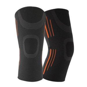 Robesbon Колено поддержки Упругие спорта Leg Упругие Колено На Pad Регулируемый Fastener Brace