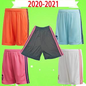 Real Madrid Fußball-Shorts 2020 2021 Adult Mens 20 21 zu Hause weg dritte Torhüter Fußballhosen GEFAHR BENZEMA BALE RAMOS ZIDANE AREOLA