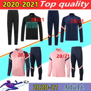20 21 Шпоры для взрослых Куртка для отдыха Del Chandal 2020 2021 сын Janssen Lo Celso Ndombele Polo Рубашка футбол Куртки тренировочный костюм бег