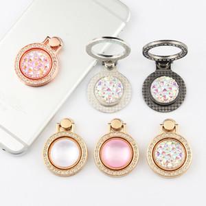 Fingerringhalter Bling Diamant einzigartige Handyinhaber Mode für iPhone x 8 7 6s Samsung S8 Mobiltelefonständer iPad