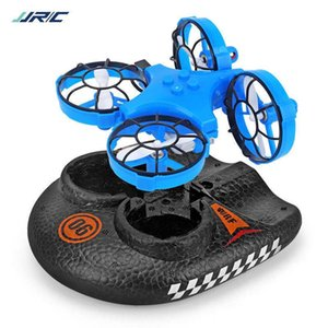 Drone RC Mini Gift Fixed 3in1 Vehicle Boat Mode Glider Wing Kids Toy Quadcopter Children Plane Remote RC Hovercraft Control Gift Tdmkh