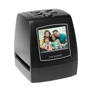 "Переносной Negative Film Scanner 35мм 135мм Slide Film Конвертер Digital Photo Image Viewer с 2,4"" ЖК-дисплей Встроенный Editing Softwar"