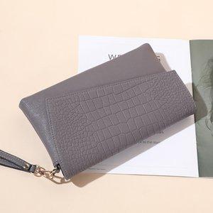 Designer-Pop2019 Genuine saco de couro de crocodilo Grain Senhora Mão Captura Único Shoulder Diagonal Pacote Mulher