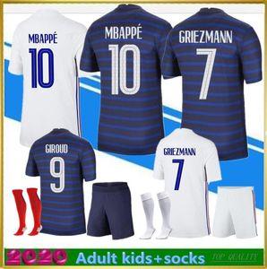 2020 2021 New MBAPPE Soccer jersey 20 21 HERNANDEZ VARANE F GIROUD THAUVIN RANCE KANTE POGBA maillot de foot jerseys football shirts