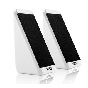 휴대용 컴퓨터 스피커 USB 전원 데스크탑 미니 스피커 우퍼 오디오 음악 플레이어 시스템 유선 소형 스피커
