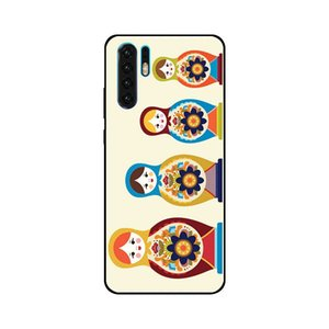 For Huawei P8 9 10 20 30 Mate Plus Pro Lite X russian doll Coat Of Arms Theme Soft TPU Phone Cases Cover Image Logo