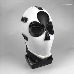 Dress Up Unisex Props Halloween Poker Face Mask COSPLAY Latex Material Party Outdoor Game Gift Ball