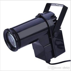 Cgjxs Voice -Activated Led Stage Light Effect Eu Plug Disco Light Super Bright 10w Led Pin Spotlight Projector For Dance Celebration