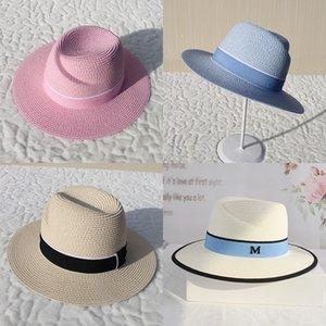 8JKq9 2019 estate e donne visiera toque toque paglia cappello da uomo di paglia ombrellone 's moda moda cappello cicatrice regolabile primavera e l'estate per wo