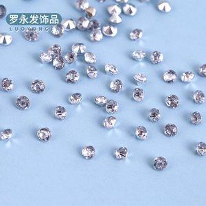 Xn413 Yiwu akrilik tekne Diamond boyama takı manzara manzara boyama kalıp sivri elmas gümüş enjeksiyon alt kaplama