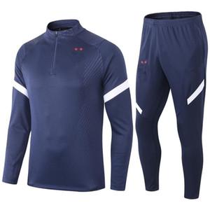 Лучший 2 ЗВЕЗДЫ Майо де Foot survetement Главная футбол костюм 2020 Франция футбол тренировка костюм куртки