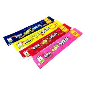 Nerds SEIL leere Beutel aus Kunststoff Edibles Verkaufsverpackungen 20 Arten Riechen Sie Proof-Beutel-Paket DHL-freie