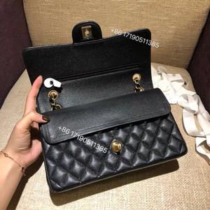 Borse a tracolla in pelle genuina di lusso per la marca di Crossbody Quilted Flap Bag Piazza Donne progettista più Caviale della borsa della borsa di Lady