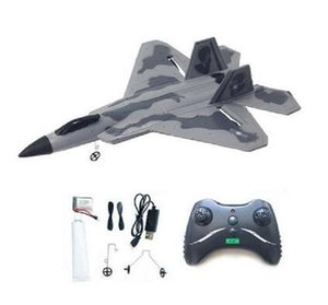 2020 New F22 2.4GHz EPP RC Fighter Control Glider Ruggedness Inertial Foam Airplan Toy Aircraft Model Outdoor Education Toys