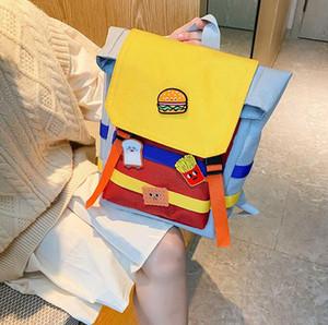2020 School Girl Bag Crianças Boy Mochilas bonito de um ombro saco macio do jardim de infância do bebê sacos