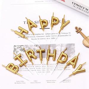مستلزمات ديكور شمعة عيد ميلاد سعيد خطابات فريد المنزلية شمعة صغيرة حفلة عيد الميلاد ديكور الكيك الفلورسنت