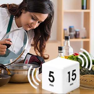Place flip Automatisation Timers 15-20-30-60 Minutes d'apprentissage minuterie de cuisine cuisson flip Cube Timers écran LCD Count Down Timers BH4021 TQQ