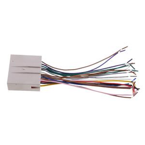 프리미엄 오디오 자동차 스테레오 와이어 링 하네스 CD 플레이어 와이어 포드 / 현대 / 링컨 쉬운 설치에 맞게