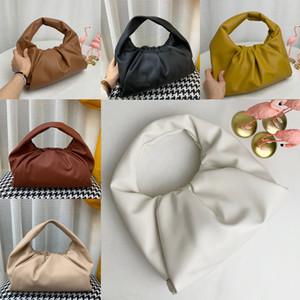 2020The Beutel Frauen Taschen neue Art und Weise Tote-Taschen aus echtem Leder Handtaschen der Beutel Frauen Clutch Bag Wolke Hochwertige Handtaschen Handtasche HMBJ #
