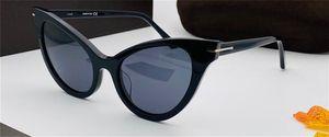 New Fashion Design Design Donna Occhiali da sole 820 Affascinante Cat Eye Blocco per occhio ovale Obiettivo classico stile popolare di alta qualità occhiali protettivi UV400