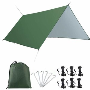 Waterproof,Windproof and UV Resistant Lightweight Rainfly Shelter,Camping Hammock Tarp for Backpacking,Hiking,,and Travel