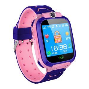 Smart S9 الأطفال ووتش التلقائي الموقت ضغط الدم معدل ضربات القلب بت وضع الرياضة في الهواء الطلق ووتش ماء smartwatch