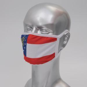 Американский флаг маска многоразового Хлопок Ткань Anti-пыль маски для лица Моды Моющейся Blank Красочного Cotton маски