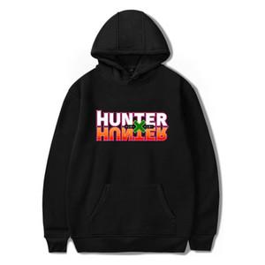 Hoodies Homens Treino Mulheres com capuz Casual camisola anime japonês Hot x Hunter Imprimir Cotton