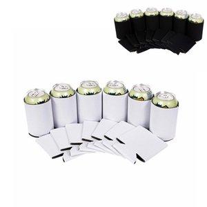 Kann Abdeckung Foam Baumwolle Cupholder bier Flaschenhalter Thermos schwarz weiß Cupholder Parteidekor FFA4460 Flasche