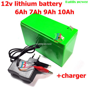 12V 6ah Lithium Battery 18650 for UPS Solar Street Light LED Strip Not Suitable Car Starter +1A Charge