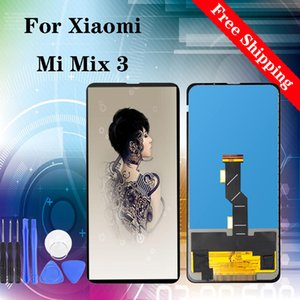 """6.39"""" High quality Display for Xiaomi Mi Mix 3 LCD Touch Screen Display Digitizer Assembly Replacement Black White LCD"""