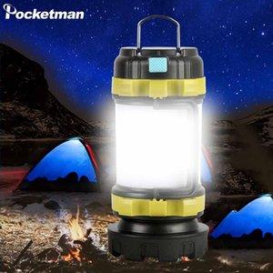 Camp Lambası LED Kamp Işık USB Şarj edilebilir Fener Dim Spotlight İş Işık Su geçirmez Searchlight Acil Meşalesi