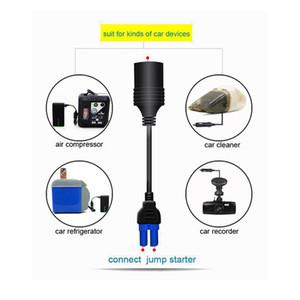 Universal 10A Portable EC5 Car Cigarette Lighter Socket Adapter Connector For Car Emergency Start Power Car Jump Starter