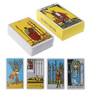 Smith English 78 Rider Card Card 78 Cavaliere Carta Carte spettacolo Set Family Game partito Card Set Tarocchi aKUaX garden2010
