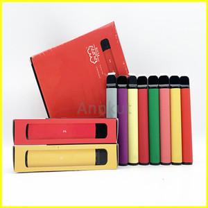 Puff Bar Artı, tek kullanımlık Vapes Cihaz Pod Seti 800 Puff Artı 3.2ml Kartuşları Vape Kalem Vape Sepeti Ambalaj E Cigarette boşaltın