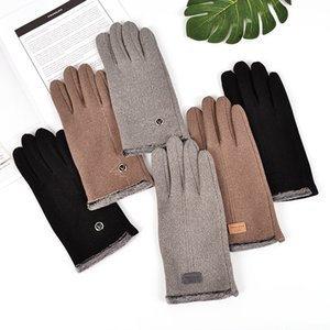 Mens Handschuhe Touch Screen Glove Fleeced Winter-Handschuhe Warm Finger Designer Handschuhe Windstopper Ski-Handschuh Driving Radfahren Telefinger CZ91601