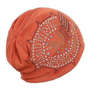Klassische Frauen skullies Winterhüte für Frauen Beanies Strickmütze Männer beiläufige Diamant-Perlen-Turban Mütze Mask Gorro Hip-Hop Motorhaube
