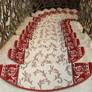 미끄럼 방지 계단 카펫 계단 카펫 문 매트 단계 주자 계단 매트 장식 셀프 접착 매트