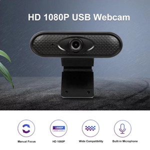 Mini Full HD 1080P USB Webcam ad alta definizione chiara Camera PC Computer webcam integrata Microfono stereo per il computer portatile