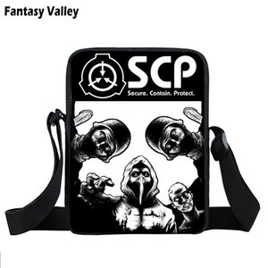 SCP Special Containment Procedures Foundation Mini Messenger Bag Scp-049 Women Handbag Boys Girls Book Bags Crossbody Bag Gift