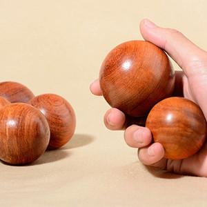 5см Деревянных Stress Баодина Бал здоровье Упражнение гандбол Finger массаж Китайского здоровье Медитация Релаксация терапия