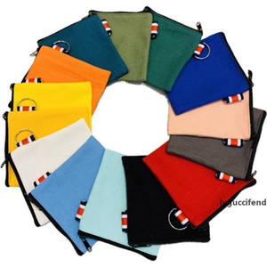 Lx2773 Bags Pouches Zipper Purse Colorful Blank Cotton Makeup Coin Canvas Bags Factory Wholesale Cosmetic Canvas Cotton mj_bag eqqRa