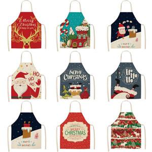 Silstar Tex Noel Önlükleri Şapka Ağacı Geyik Desen Mutfak Önlüğü Kadınlar İçin Otel Restoran Şefi Garson
