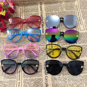 De Little Eye Cute Yellow Toddler Pink Cat Girls Boys Glasses Oculos 2020 Sun Sunglasses Brand Sol Children Bee Kids yxldh ly_bags