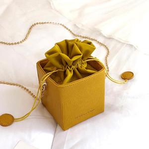 MAOUMY MessengerBag Trendy PuLeather solide Petit sac à bandoulière Besace Femme Shoping Sac Portable Casual Mignon Chaîne unique