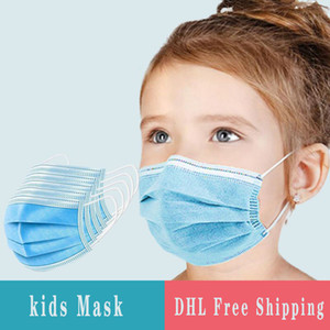 Mask Face Mask For Protective Anti-Dust Layers Disposable Disposable Face 3 Pcs Bag 50 Kids Stock In Jggja