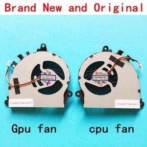 جديد GPU كمبيوتر محمول وحدة المعالجة المركزية مروحة تبريد تبريد لMSI gs70 gs72 2PE 2QE 2OD ONC 6QD 6QC 6QE MS-1771 MS-1773 الشبح برو UX7 7G-700 GTX 765M